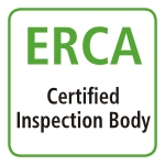 ERCA certified inspection body